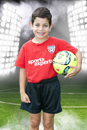 Soccer Player Photo